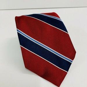 Tommy Hilfiger Men's 100% Silk Multicolor Stripes